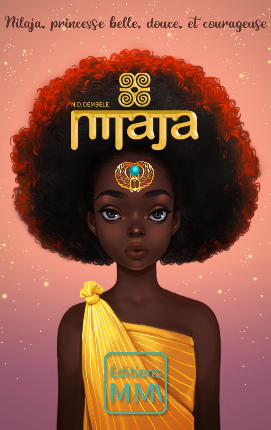 couverture de nilaja, princesse belle, douce, et courageuse
